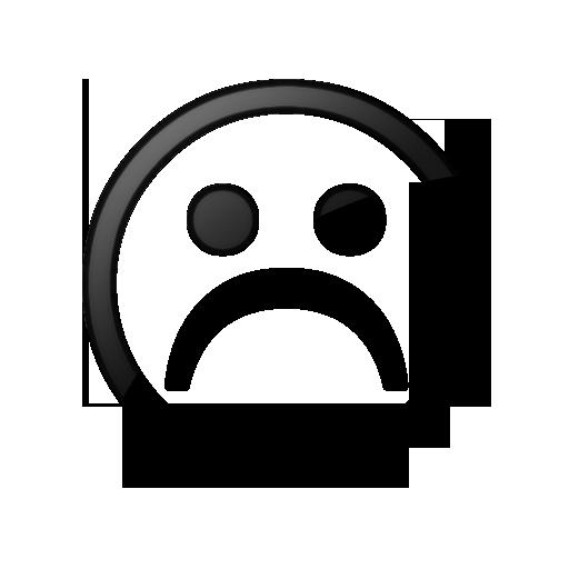 512x512 Sad Face Icon Style 2