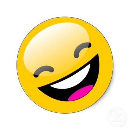 436x436 Laughing Smiley Animated Clipart