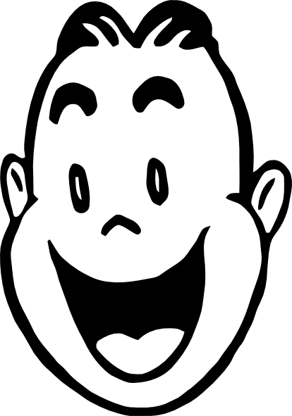 414x591 Happy Face Smiley Face Clipart Black And White Free Clipart
