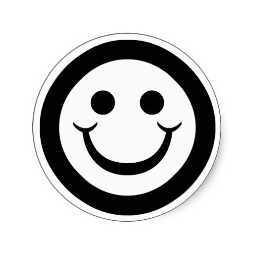 512x512 20 Black And White Smileys Smiley Symbol
