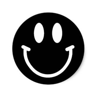 324x324 Smiley Face Stickers Zazzle