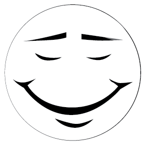 295x295 Smiley Face Black And White Clipart Panda