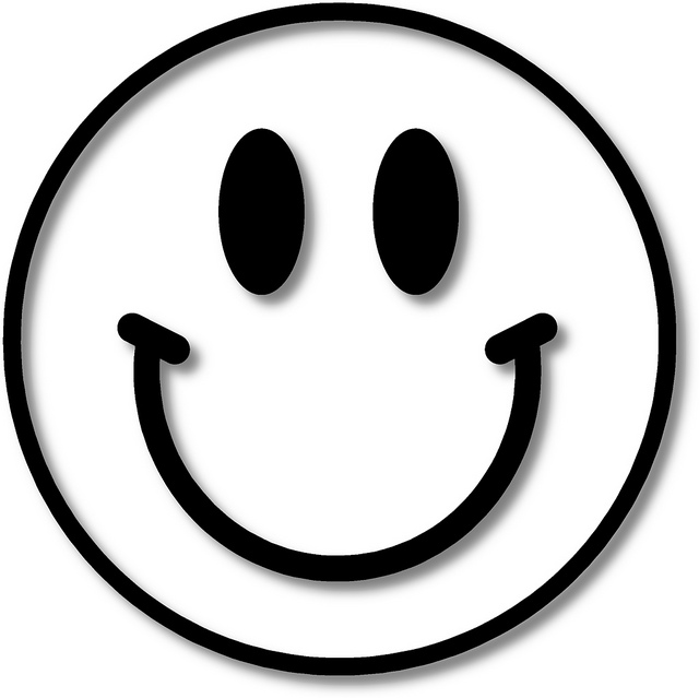 640x639 Smiley Face Black And White Black And White Smiley Face Images