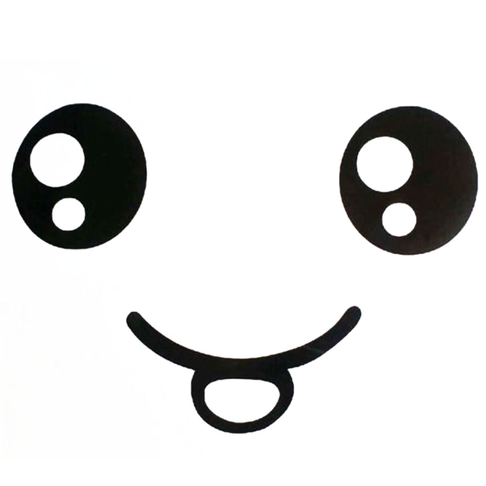 1001x1001 Smiley Face Black And White Smiley Face Decals Reviews Shopping