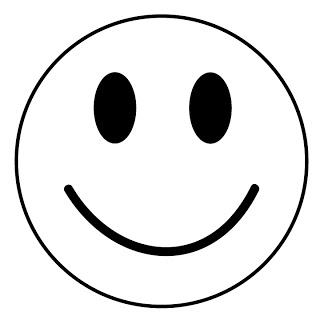 320x320 Happy Face Clip Art Smiley Face Clipart Image 1