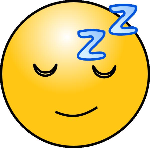 600x589 Sleepy Smiley Face Clip Art