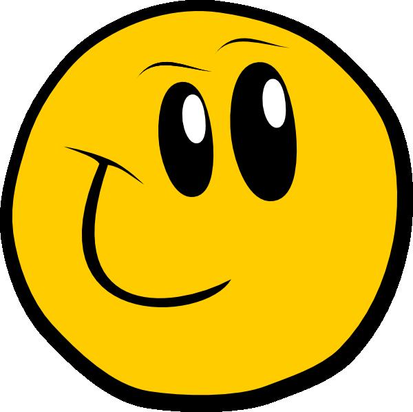 600x598 Smiley Face Clip Art