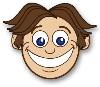 340x298 Smiling Face Clip Art