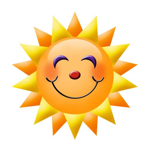 520x522 Sunshine Smiley Face Clipart Free Clip Art Images Image