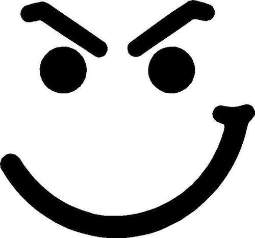 500x467 Smile Clipart Smirk