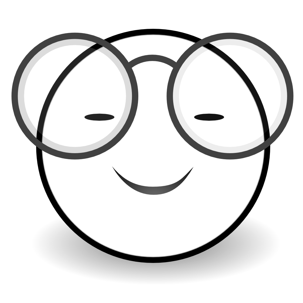 999x999 Smiley Face Black And White Clipart