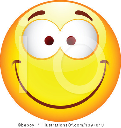 400x420 Happy Faces Emotions Clipart
