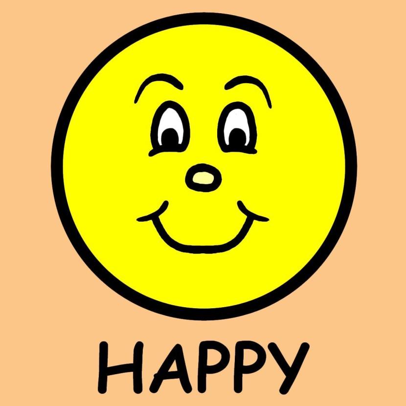 830x830 Emotions Clipart Happy Sad