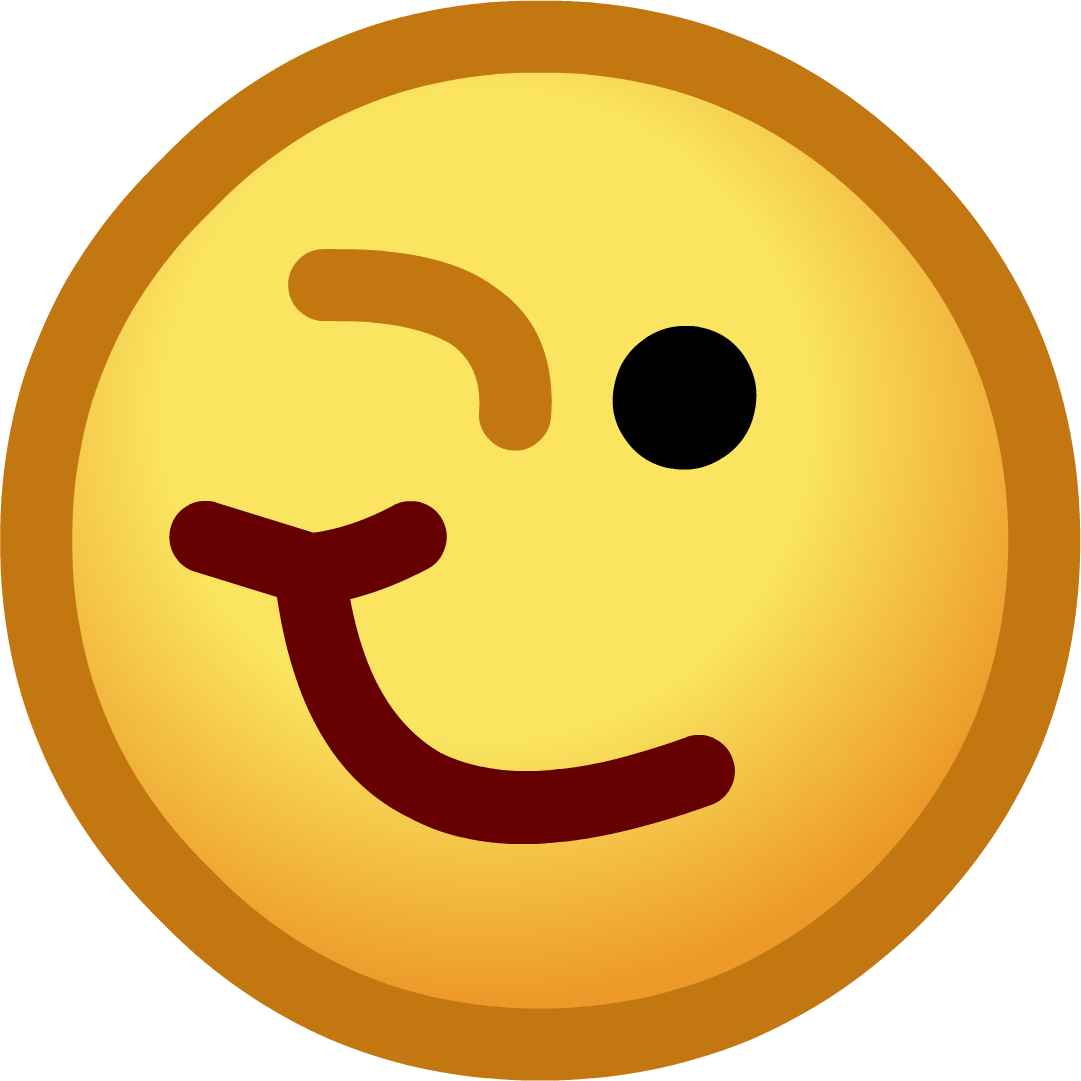 1081x1081 Wink Smiley Face Clip Art Vector Free Clipart Images Image