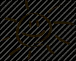256x205 Drawn Smiley Symbol