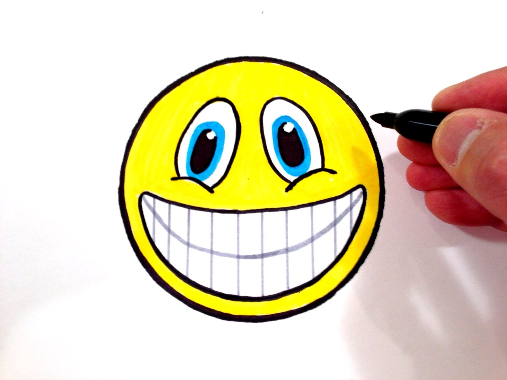 1632x1224 How To Draw A Smiley Face With Teeth