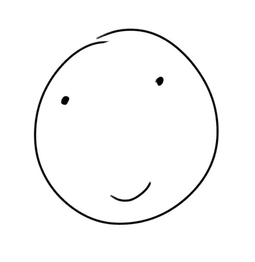 500x514 I Realized While Drawing Today That You Can Make A Normal Smiley