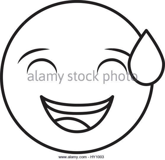557x540 Smiley Face Emoji Black And White Stock Photos Amp Images