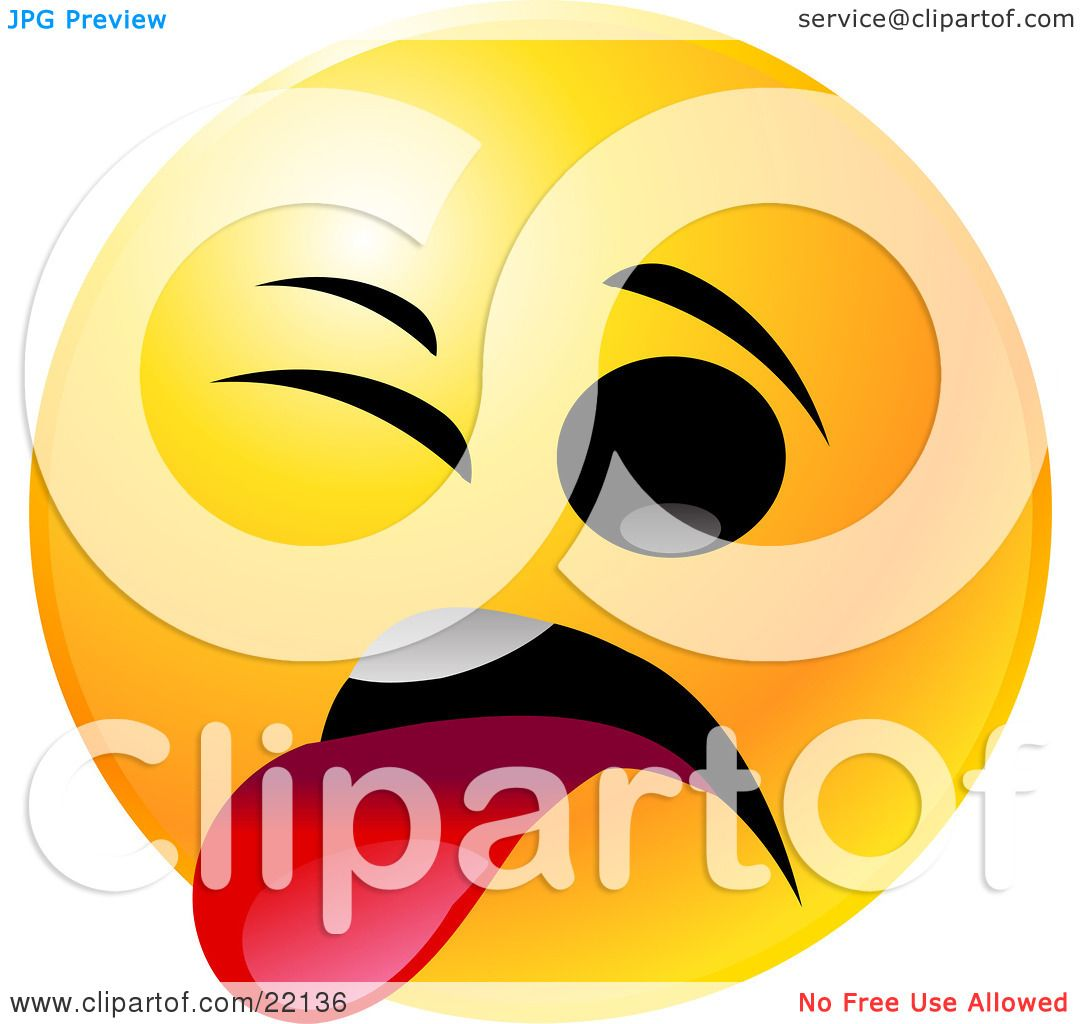 1080x1024 Clipart Illustration Of A Yellow Emoticon Face Smiling And Giving