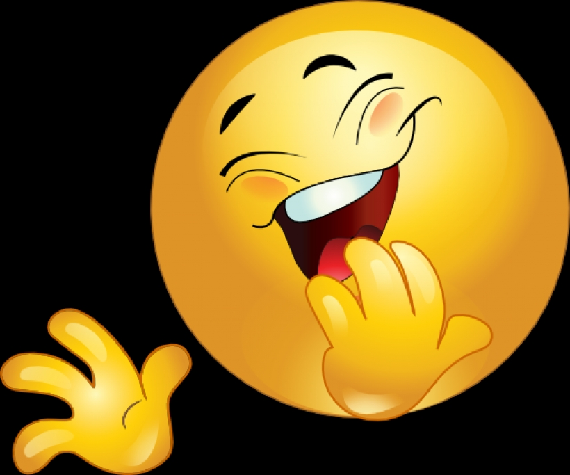 820x683 Free Clipart Laughing Face