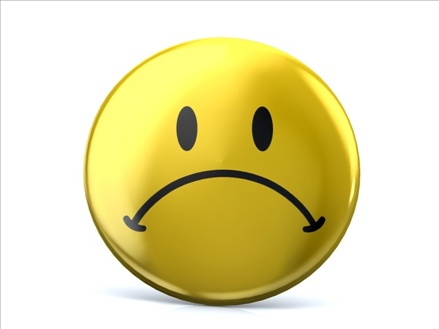 640x480 Sad Face Sad Smiley Clip Art