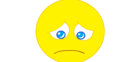 272x125 Sad Face Template Smiley Face Sad Face Coloring Pages