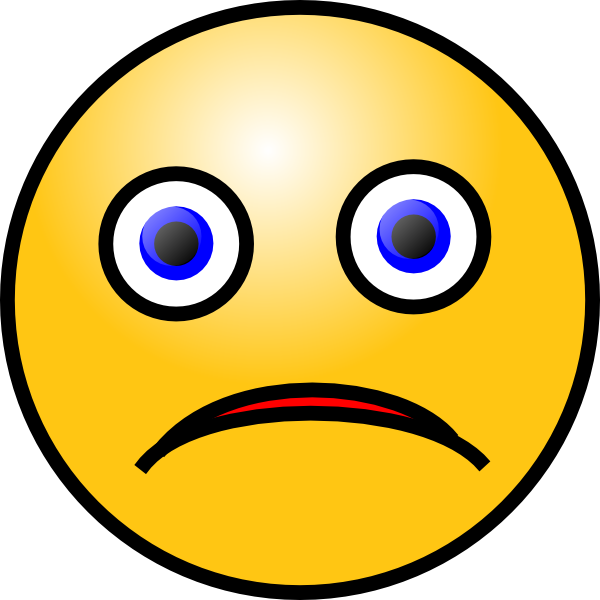 600x600 Sad Smiley Clip Art