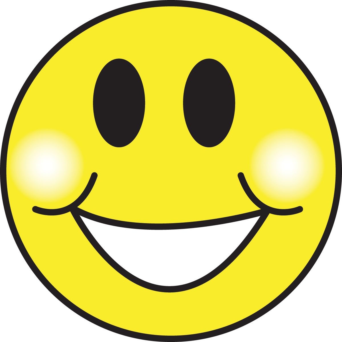 1200x1200 Smiley Face Clipart