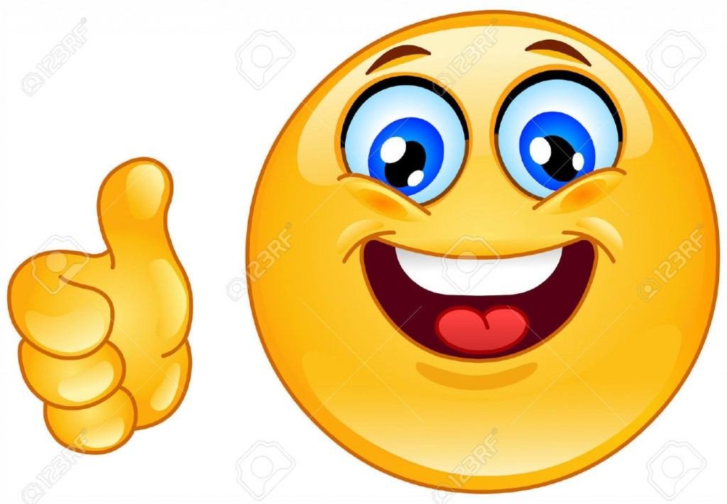 1024x710 Clipart Thumbs Up Smiley Face