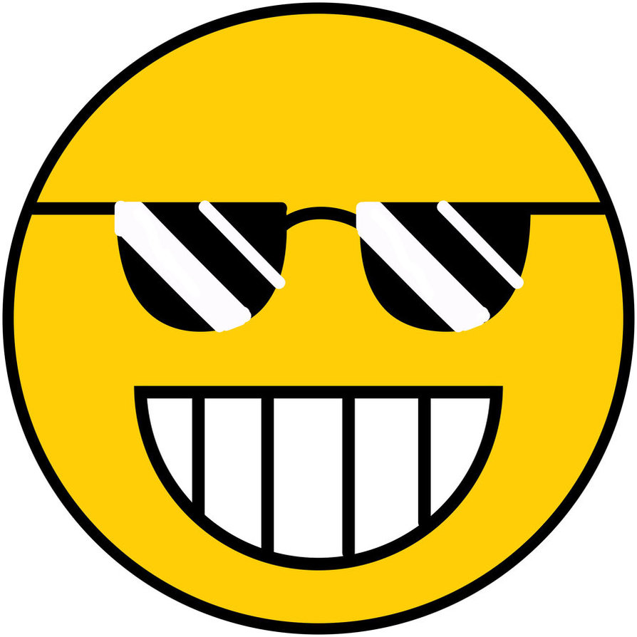 894x894 Cool Smiley Face Clipart