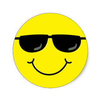 324x324 Cool Smiley Stickers Zazzle