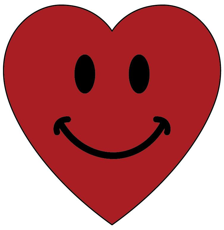 754x771 Face Clipart Heart