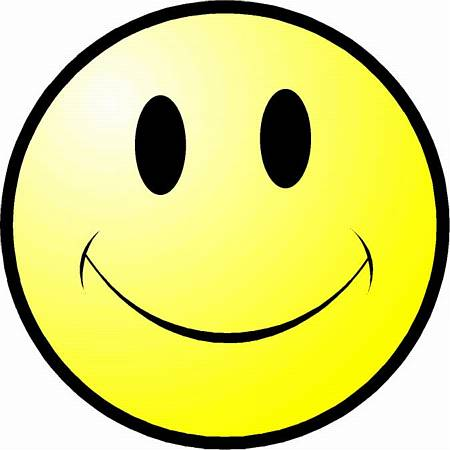 450x450 Free Clipart Smiley Face