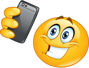350x270 Selfie Smiley Smiley, Smileys And Emojis
