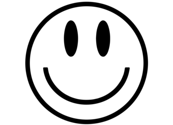 340x246 Smiley Face Clipart