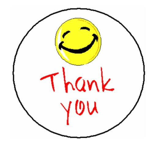 500x471 Thank You Smiley Face Clipart