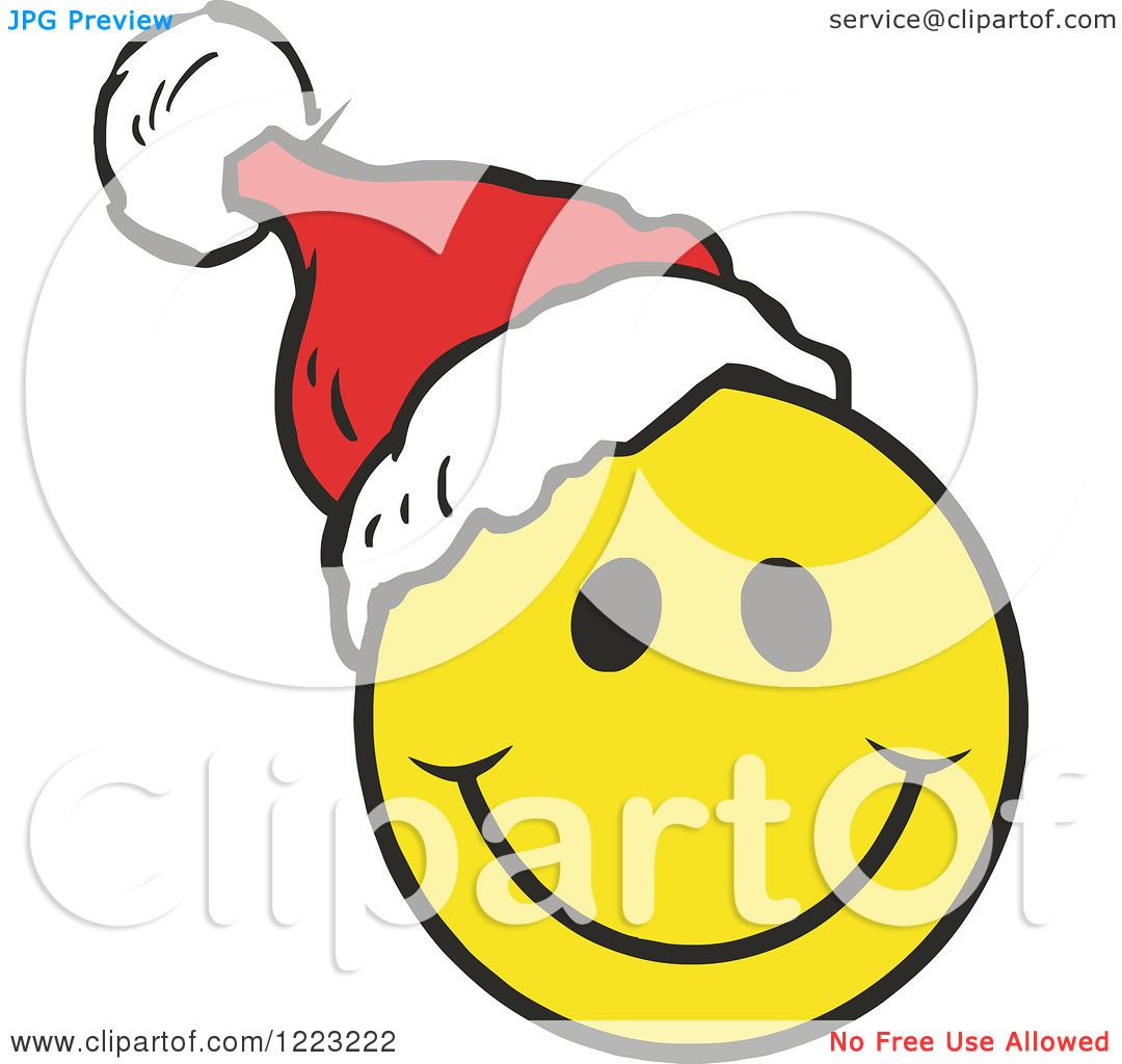 1080x1024 Christmas Smiley Face Clipart