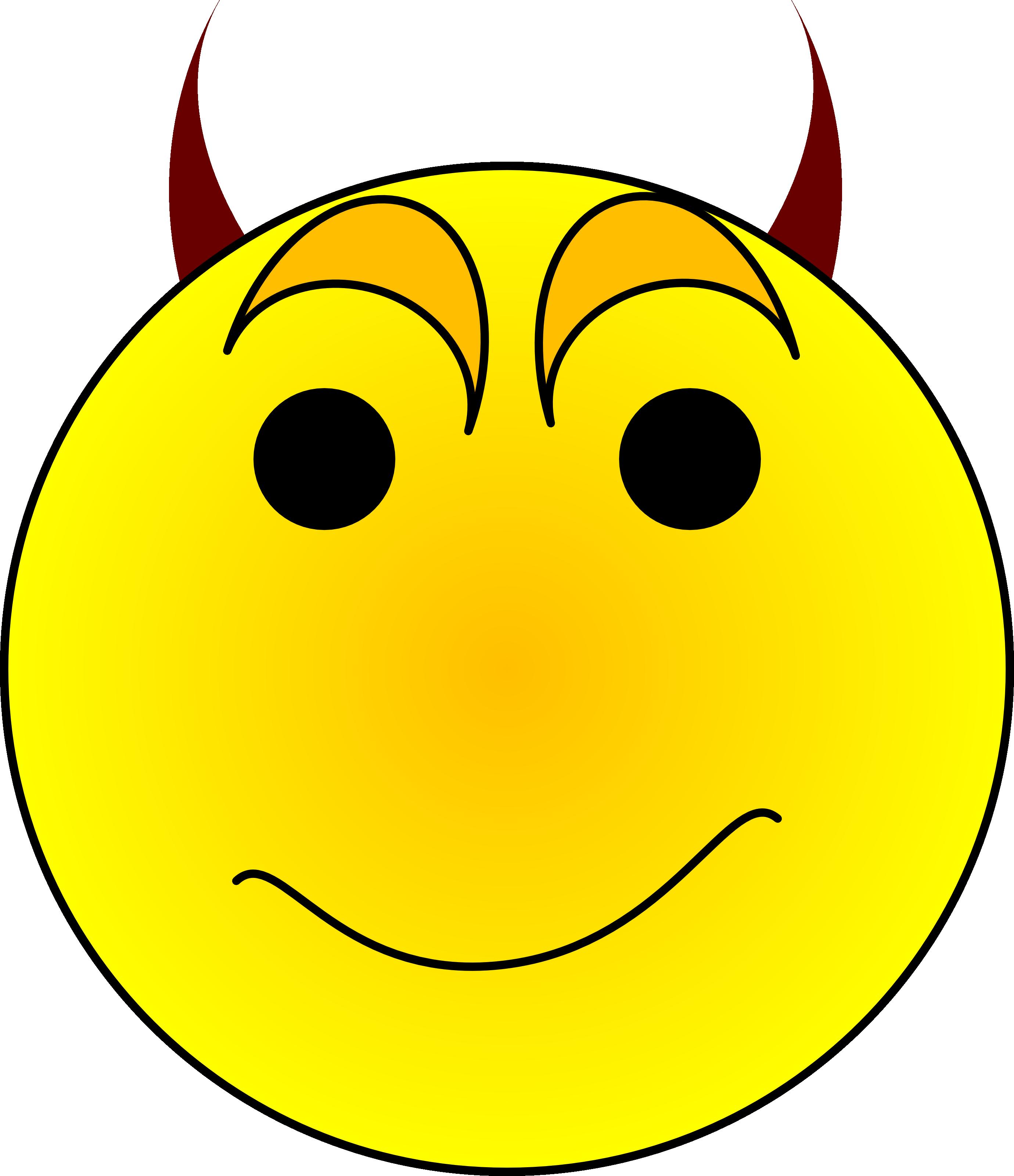 2760x3200 Devil clipart smiley face