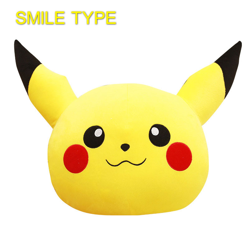 800x800 3336 Cm Pikachu Cushion Laugh Smiley Face Smilies Travel Emoji