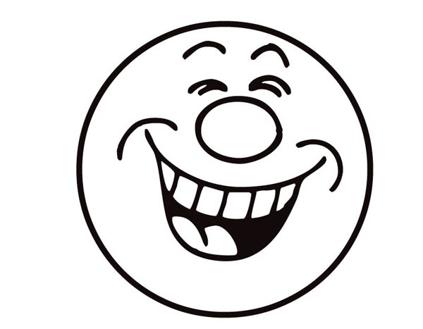 600x467 Laugh Smiley Face Coloring Page Coloring Sun