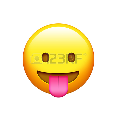 450x450 The Emoji Yellow Happy And Laugh Face With Dollar Eyes And Tongue