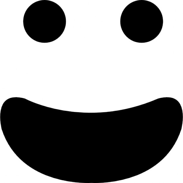 626x626 Happy Smiling Emoticon Face With Open Mouth Icons Free Download