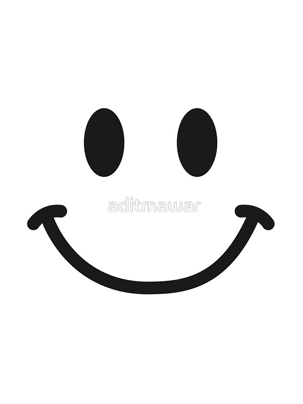 600x800 Smiley Face T Shirt Stickers By Aditmawar Redbubble