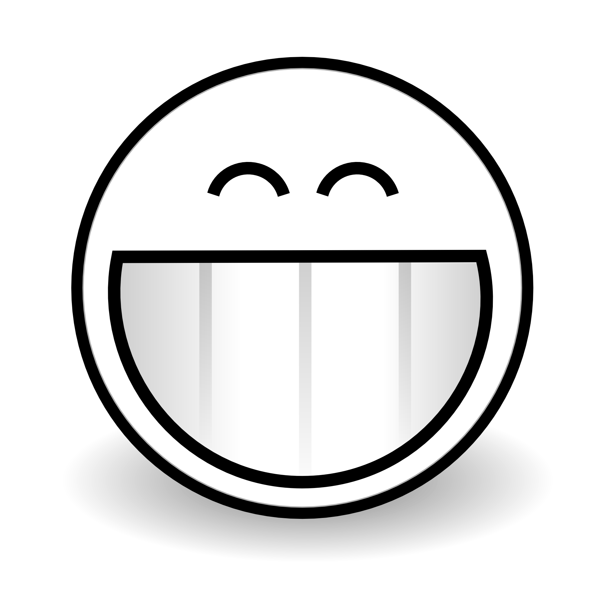 1979x1979 Smiley Face Black And White Smile Mouth Clipart