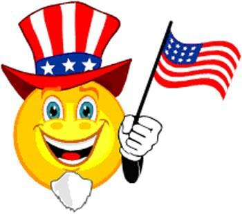350x310 Patriotic Smiley Face Smiley Smiley And Smileys