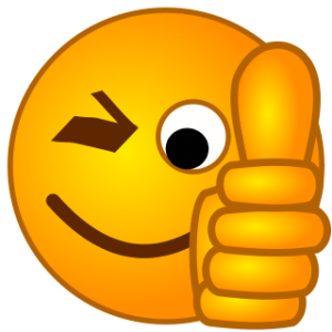 300x300 Smiley Face Thumbs Up Png Clipart Panda