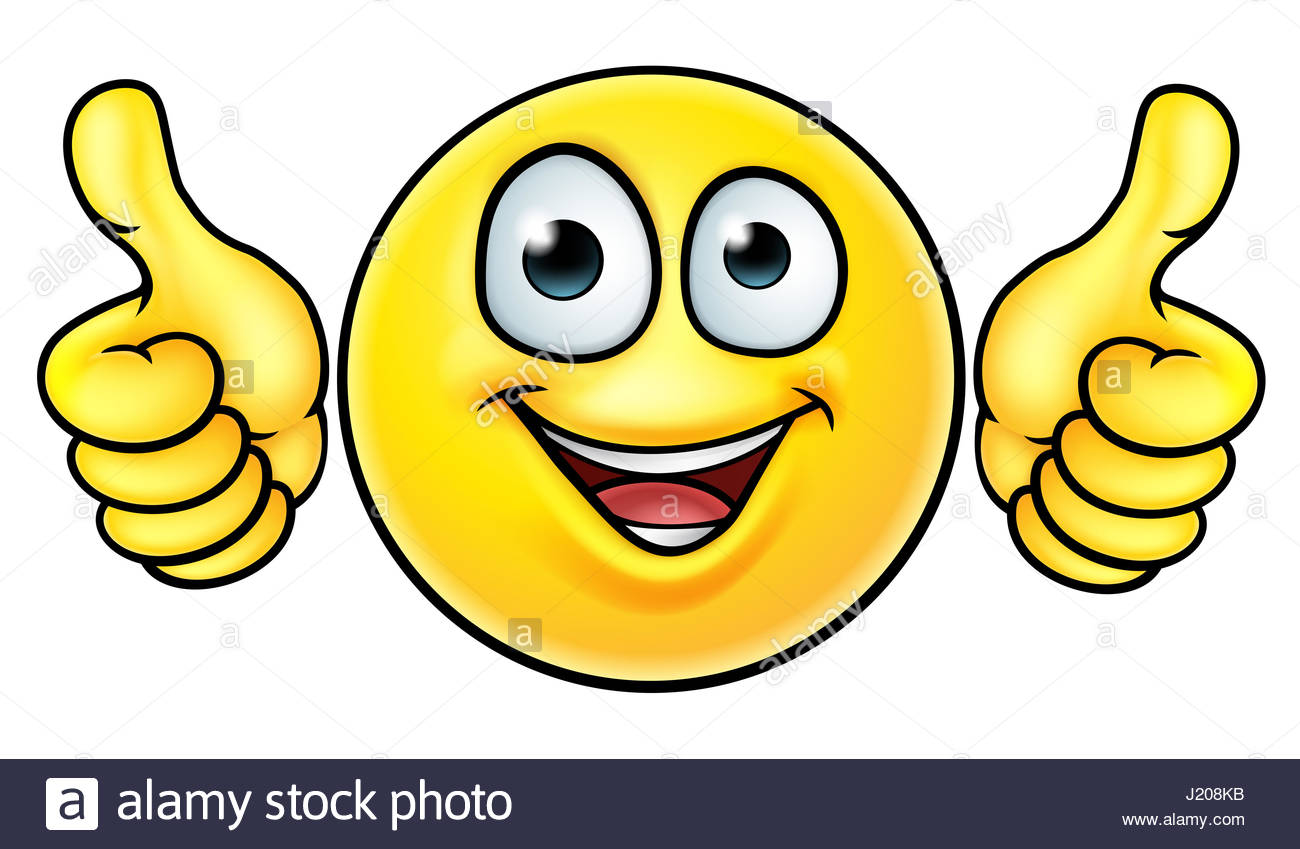 1300x849 A Smiling Cartoon Emoji Emoticon Smiley Face Character Stock Photo