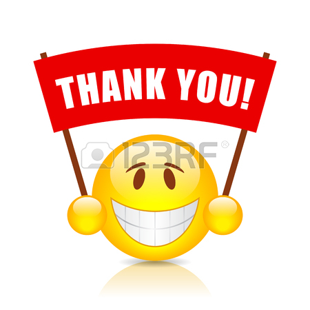 450x450 Clip Art Smiley Face Thank You