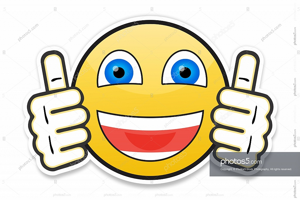 1024x682 Smiley Face Showing Two Thumbs Up