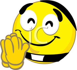 300x274 Smiley Clipart Thank You